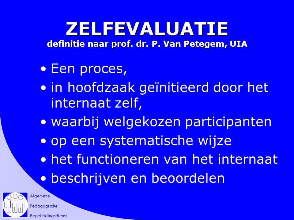 Algemene Pedagogische Begeleidingsdienst DANK VOOR JE MEDEWERKING!