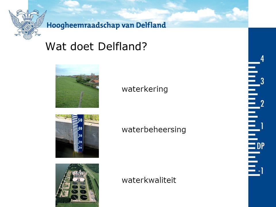 Laagst gelegen delen van Delfland Den Haag Delft Hoek van Holland Rotterdam