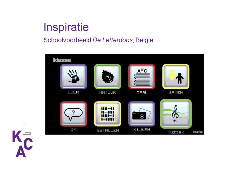 Inspiratie Schoolvoorbeeld De Letterdoos, België: