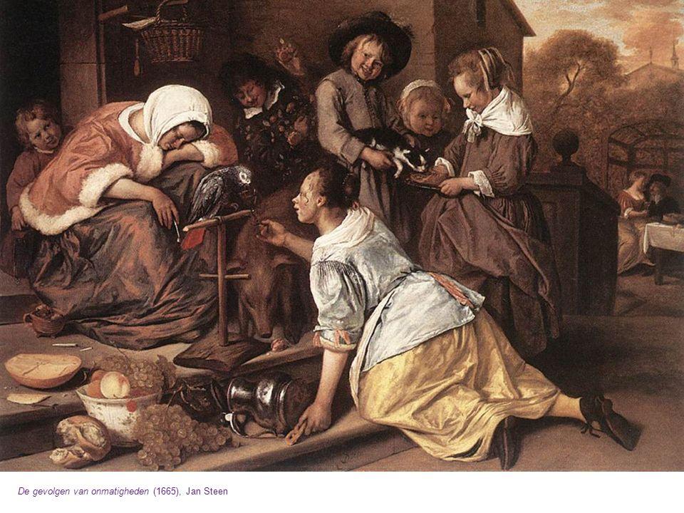 De gevolgen van onmatigheden (1665), Jan Steen