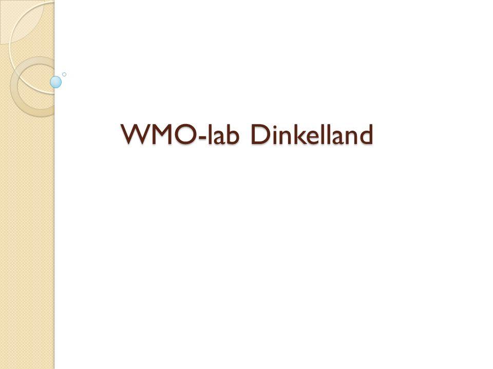 WMO-lab Dinkelland WMO-lab Dinkelland