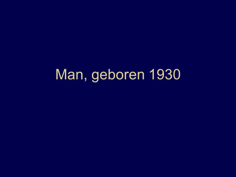 Man, geboren 1930