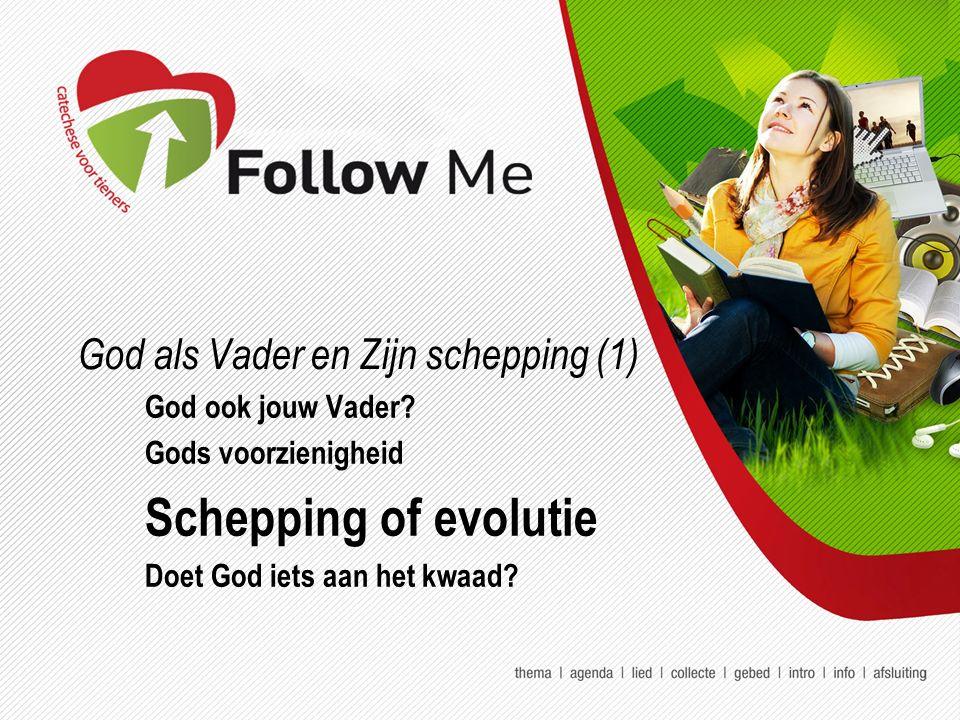 God als Vader en Zijn schepping (1) God ook jouw Vader.
