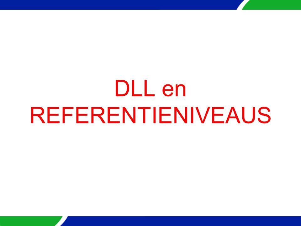 DLL en REFERENTIENIVEAUS