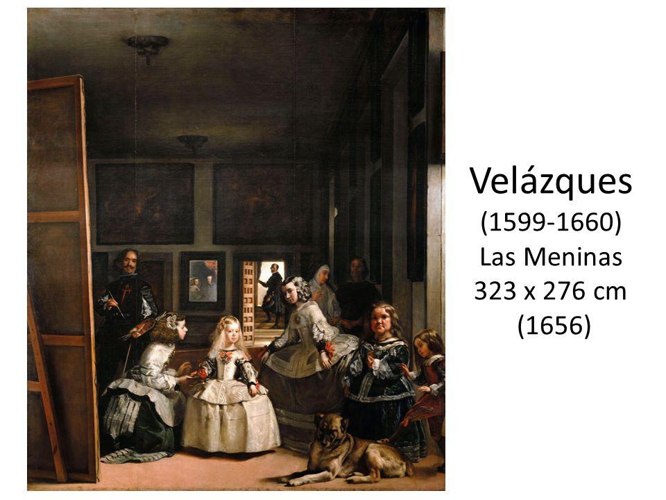 Velázques (1599-1660) Las Meninas 323 x 276 cm (1656)