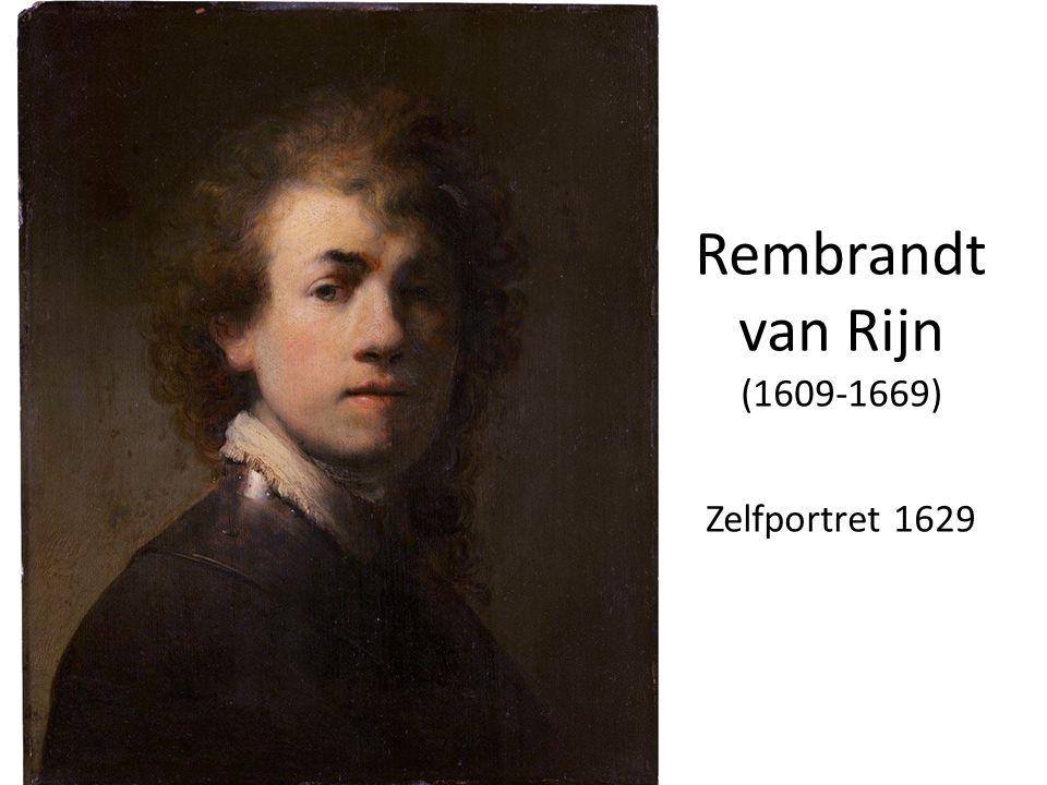 Rembrandt van Rijn (1609-1669) Zelfportret 1629