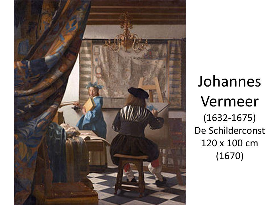 Johannes Vermeer (1632-1675) De Schilderconst 120 x 100 cm (1670)