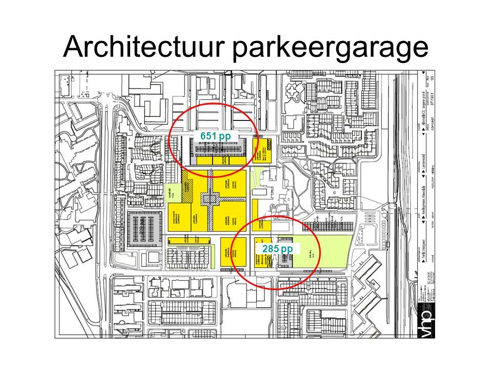 Architectuur parkeergarage 651 pp 285 pp