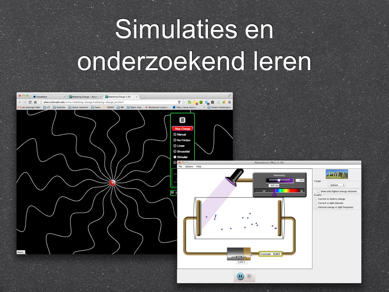 Simulaties en onderzoekend leren