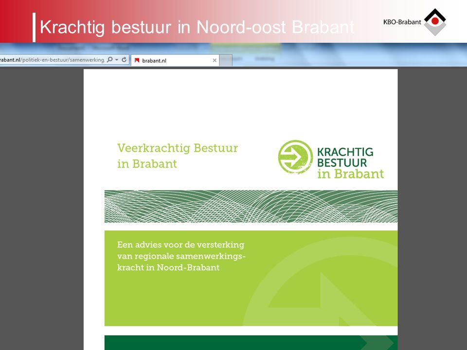 4 KBO-Brabant werkt samen Landelijk met de elf andere Provinciale KBO's in de Unie KBO Provinciaal met vijf andere ouderenorganisaties: ANBO, BOOG, PC