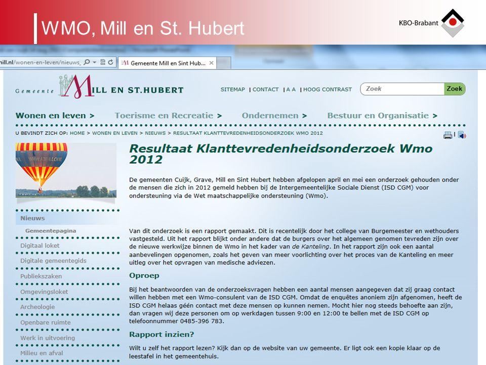 6 Regionaal Beraad Organogram KBO-Brabant leden Afdeling Cluster binnen een gemeente KRING ALGEMEEN BESTUURBUREAU ALGEMENE VERGADERING WMO, Mill en St