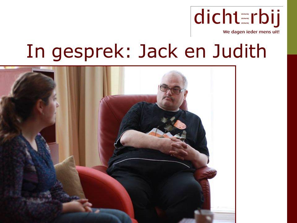 In gesprek: Jack en Judith