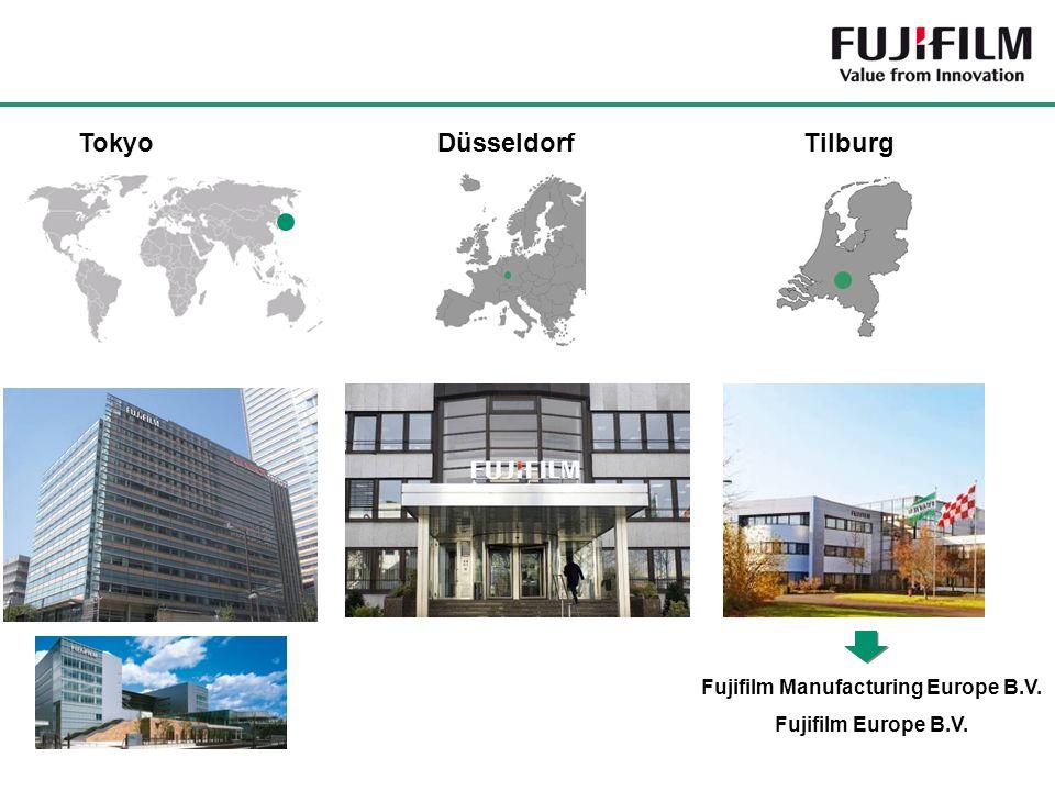 Düsseldorf Tokyo Tilburg Fujifilm Manufacturing Europe B.V. Fujifilm Europe B.V.