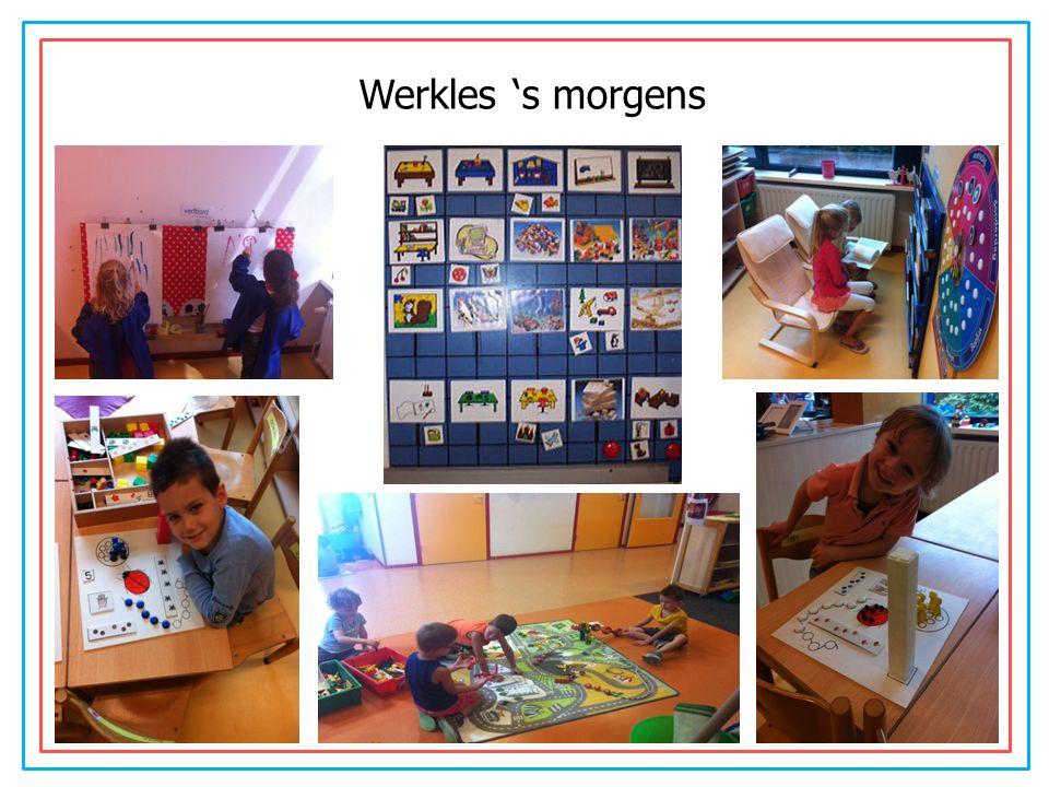 Werkles 's morgens