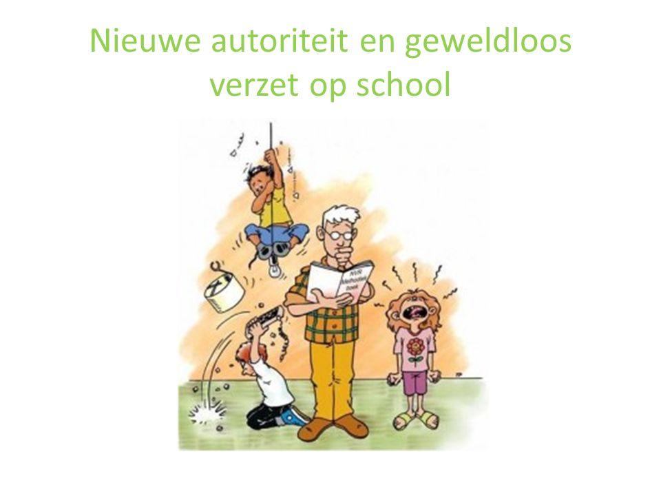 Nieuwe autoriteit en geweldloos verzet op school