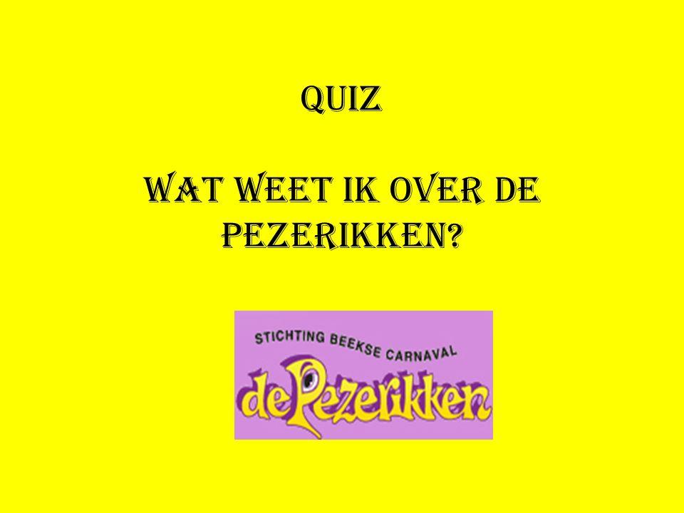 Quiz Wat weet ik over de Pezerikken