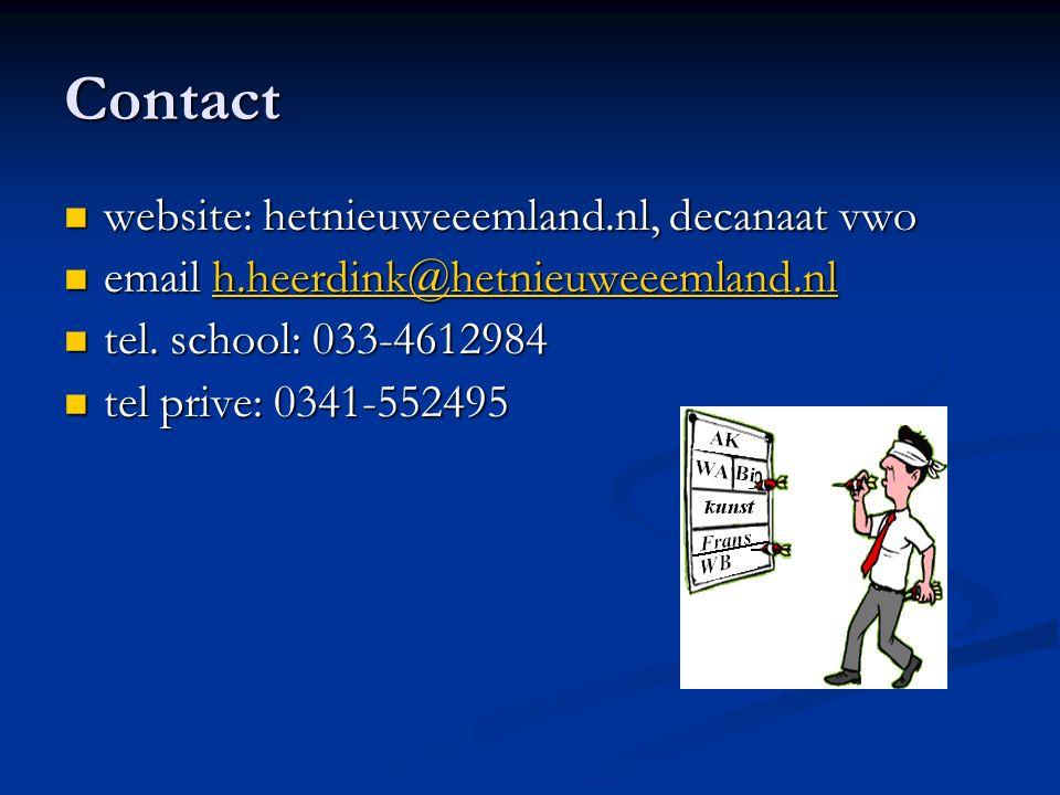 Contact website: hetnieuweeemland.nl, decanaat vwo website: hetnieuweeemland.nl, decanaat vwo email h.heerdink@hetnieuweeemland.nl email h.heerdink@hetnieuweeemland.nlh.heerdink@hetnieuweeemland.nl tel.