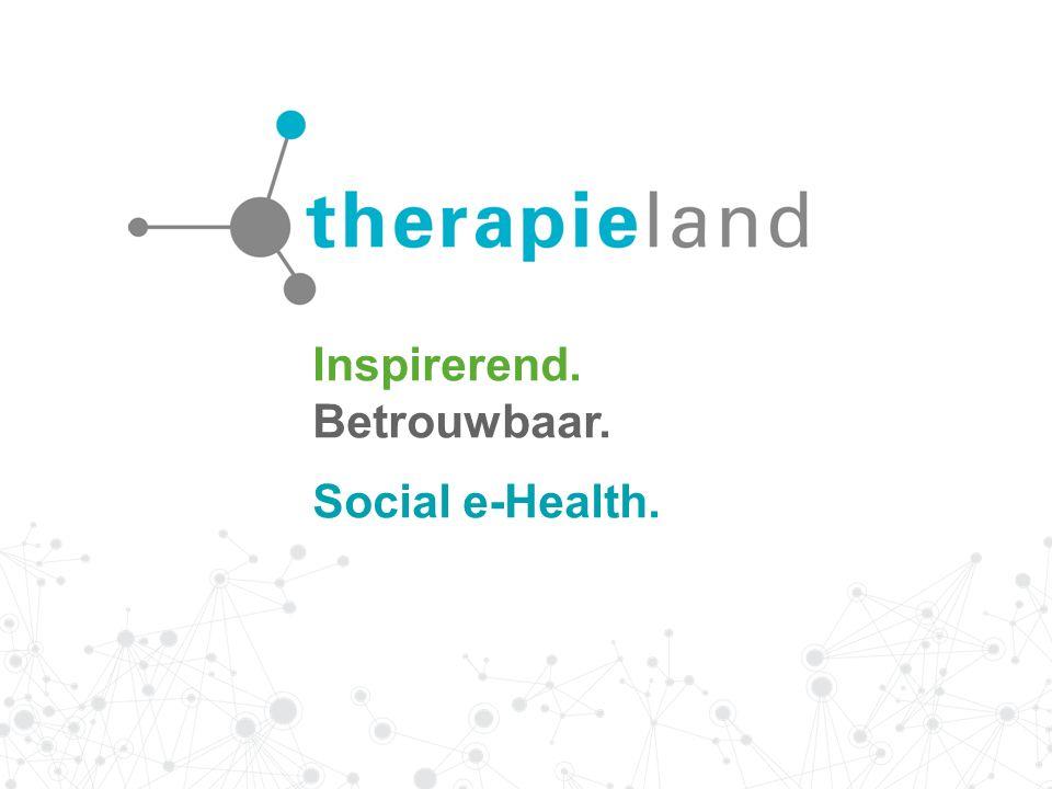 Inspirerend. Betrouwbaar. Social e-Health.