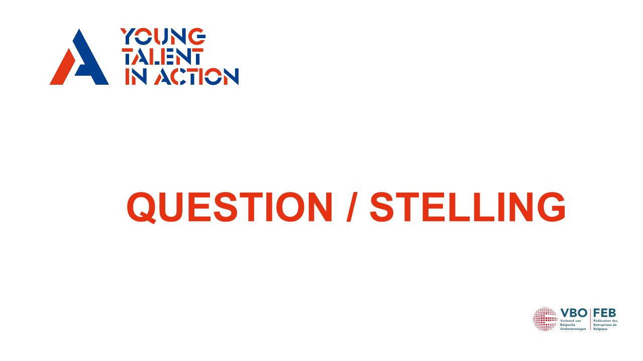 QUESTION / STELLING