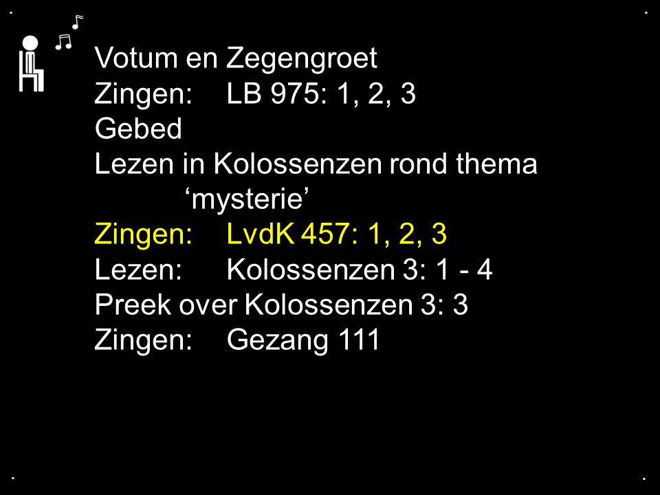 LvdK 457: 1, 2, 3