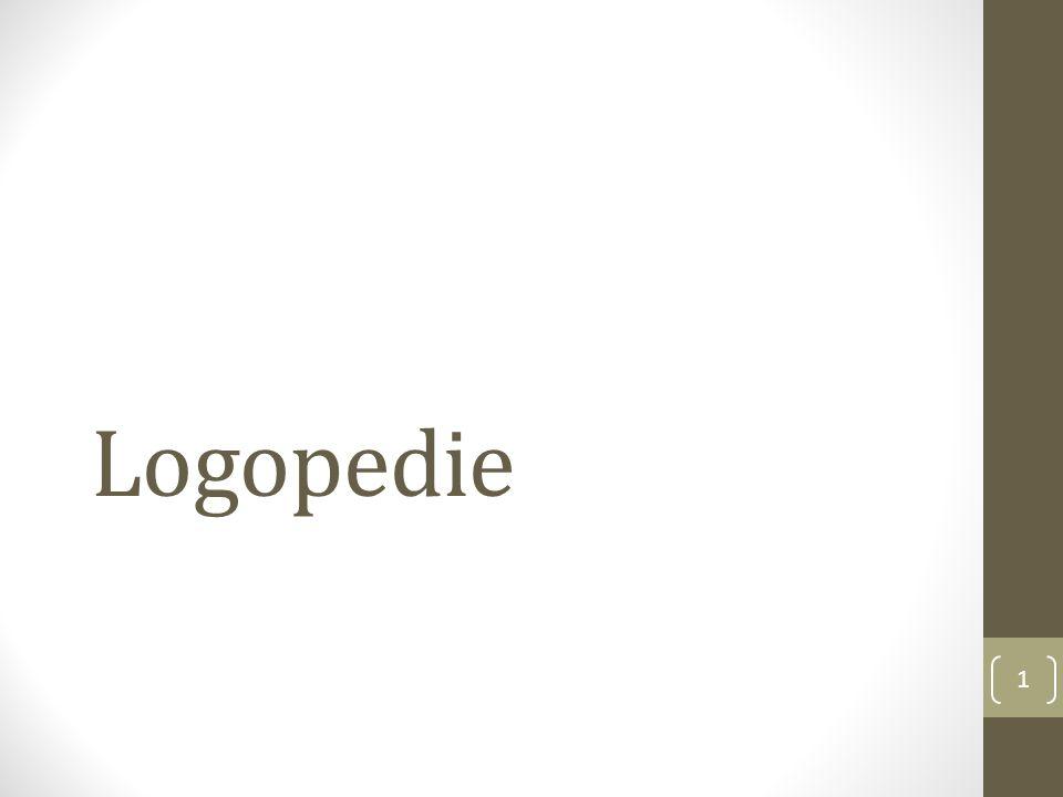 Logopedie 1