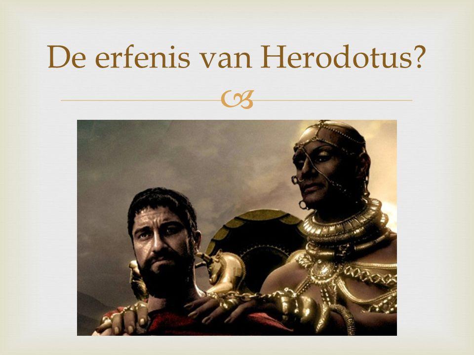  De erfenis van Herodotus?