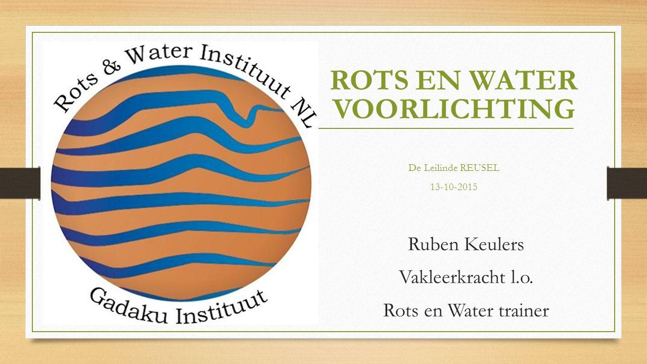 ROTS EN WATER VOORLICHTING De Leilinde REUSEL 13-10-2015 Ruben Keulers Vakleerkracht l.o.