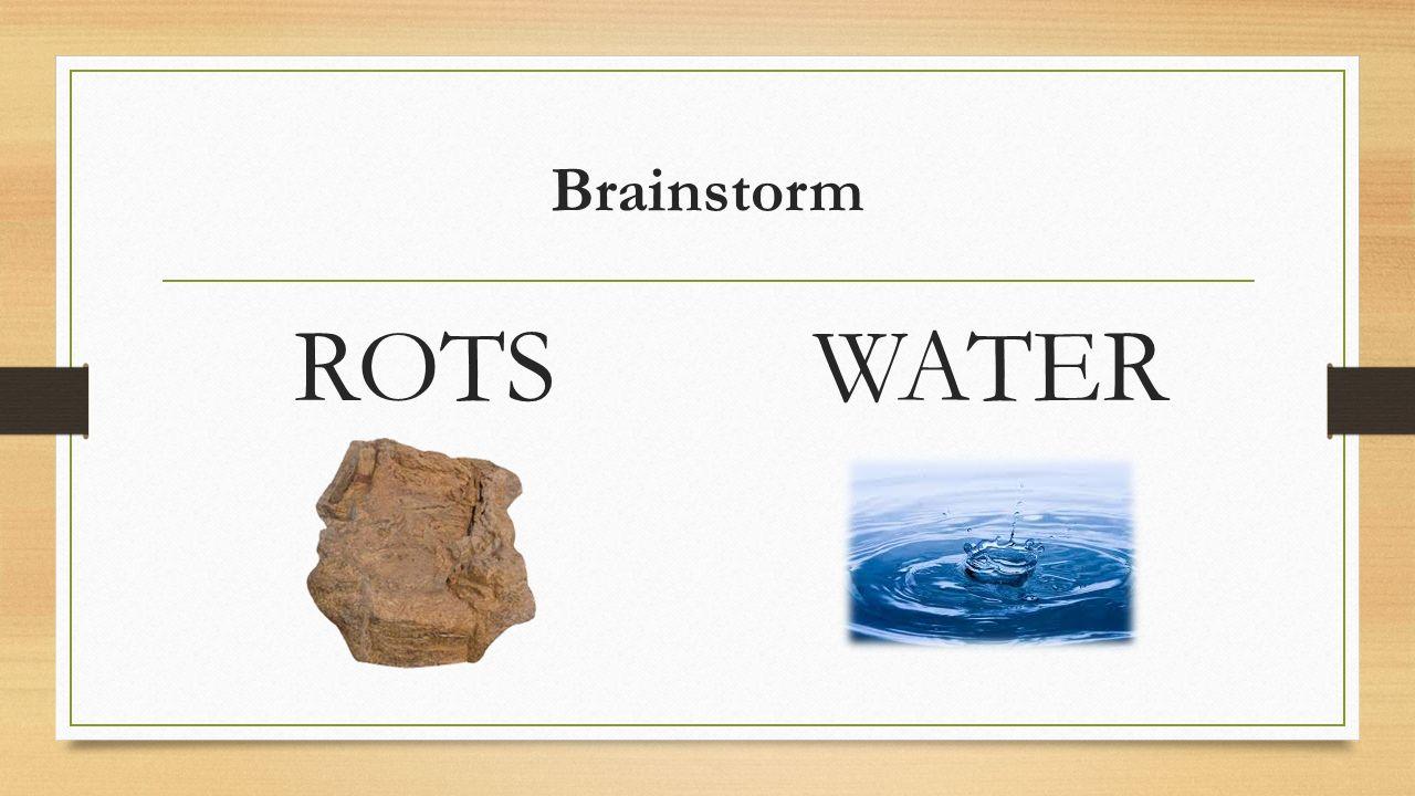 Brainstorm ROTSWATER