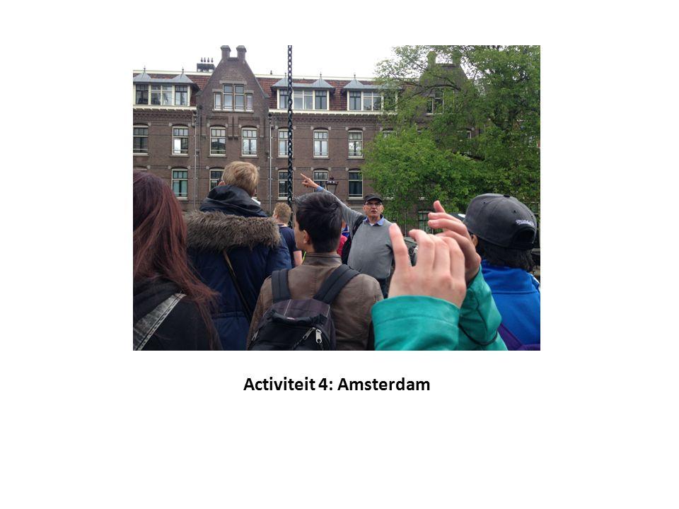 Activiteit 4: Amsterdam