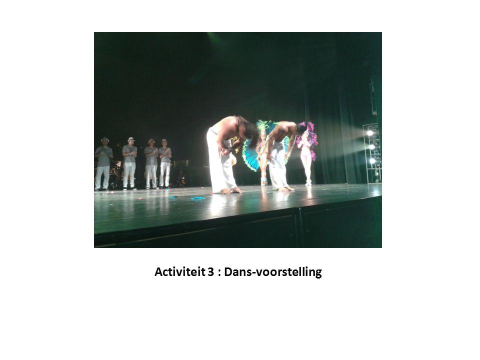 Activiteit 3 : Dans-voorstelling