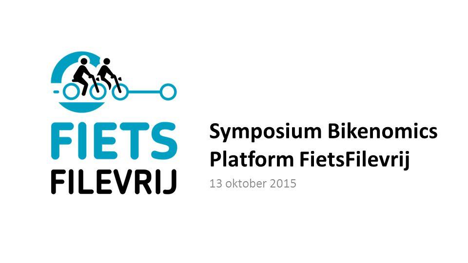 Symposium Bikenomics Platform FietsFilevrij 13 oktober 2015
