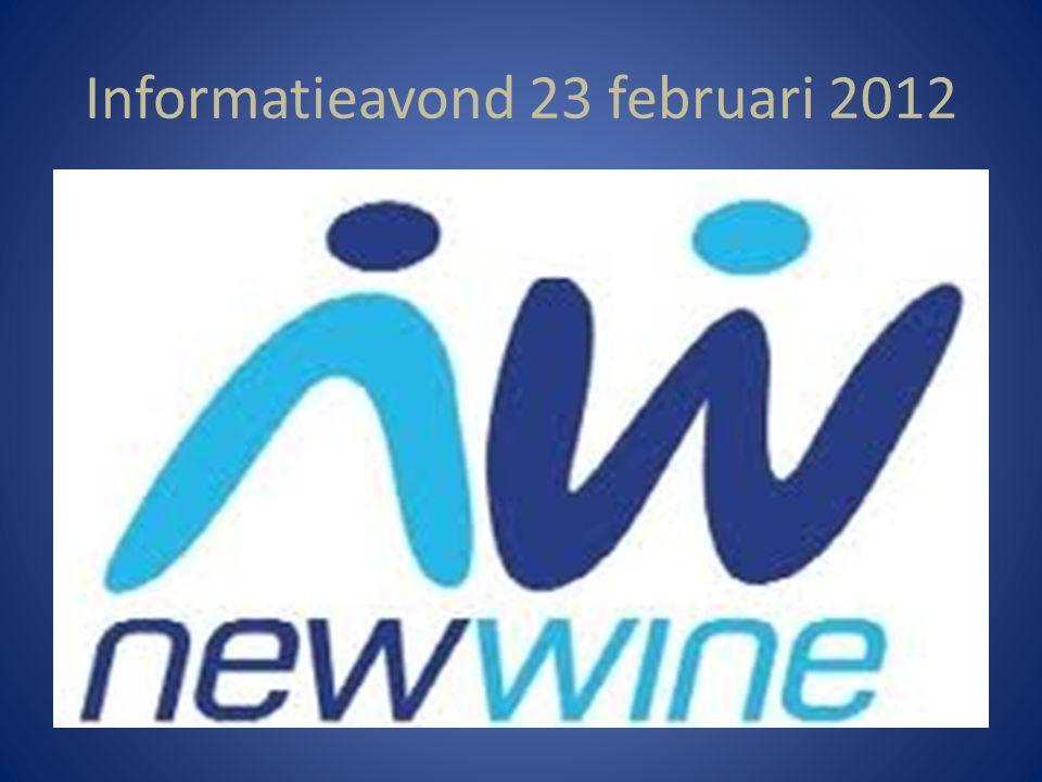New Wine – zomerconferentie 2012 New Wine……….Wat is dat.