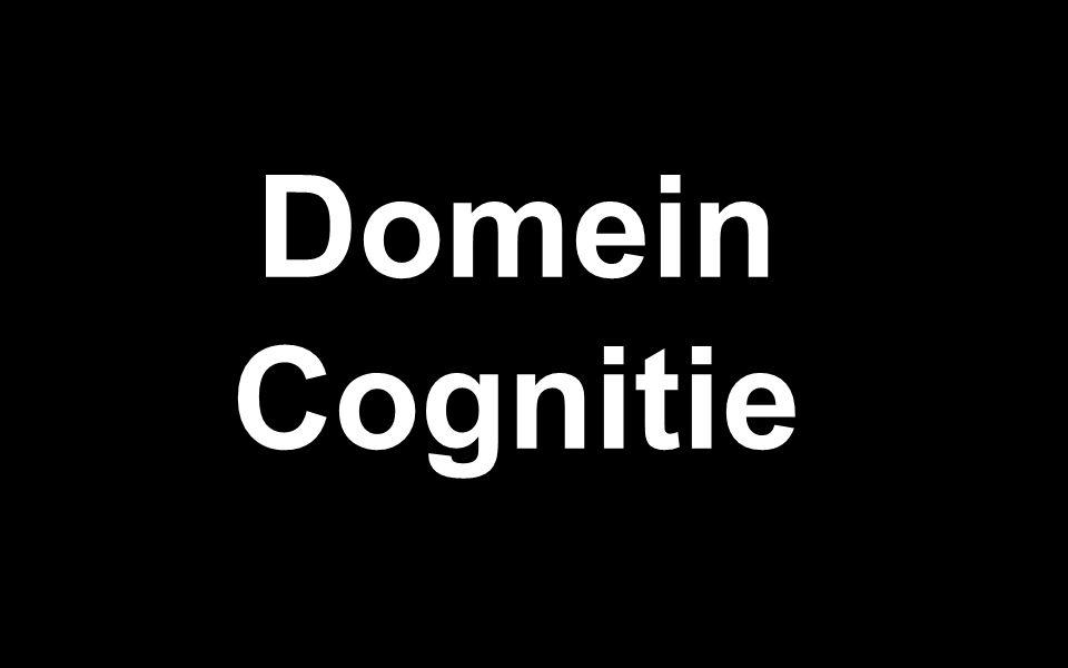 Domein Cognitie