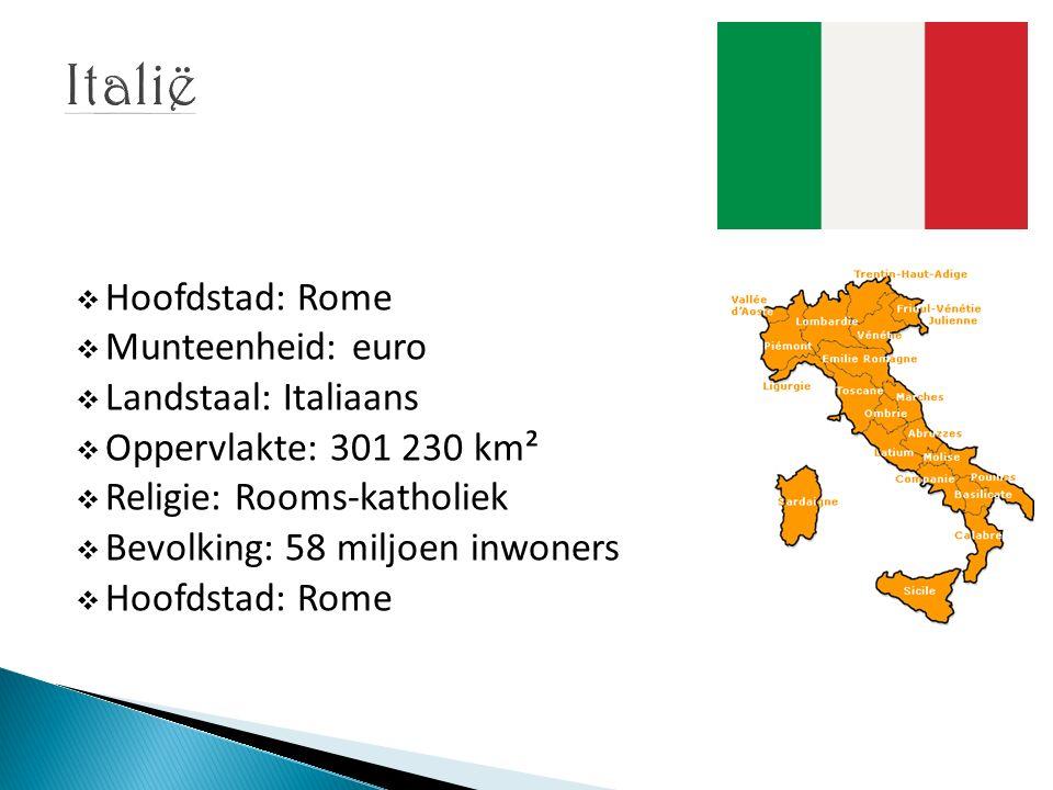  Halverwege de westkust van Italië  20 km in het binnenland, bij de Middellandse Zee  Ontstaan in 753 v.C.