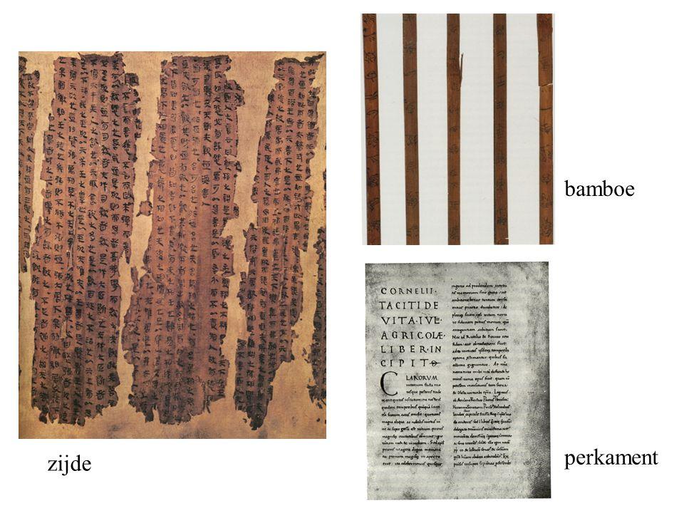 zijde bamboe perkament