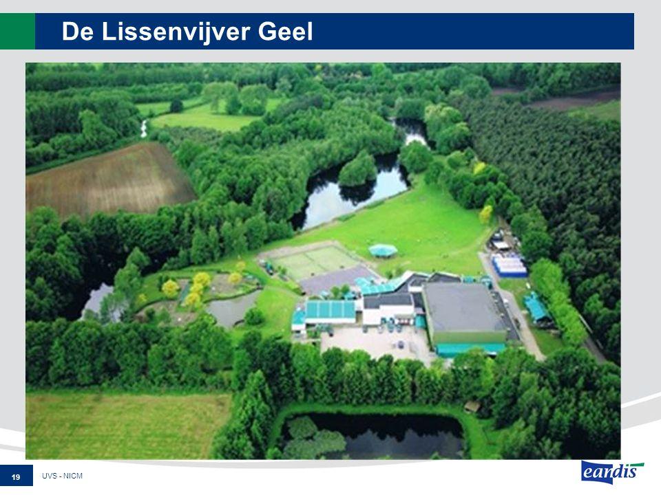 De Lissenvijver Geel UVS - NICM 19