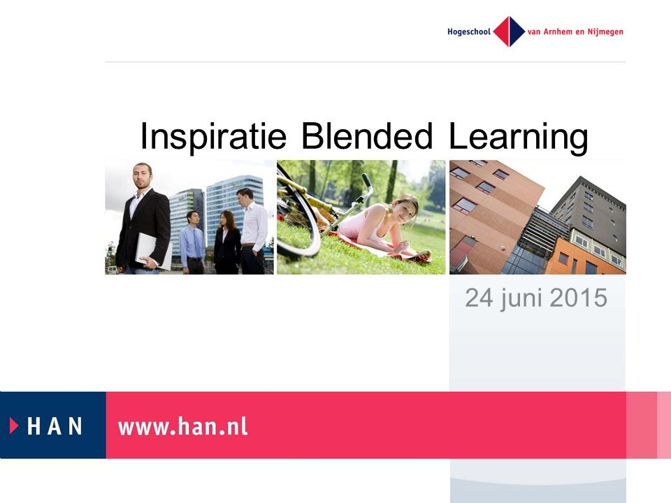 Inspiratie Blended Learning 24 juni 2015