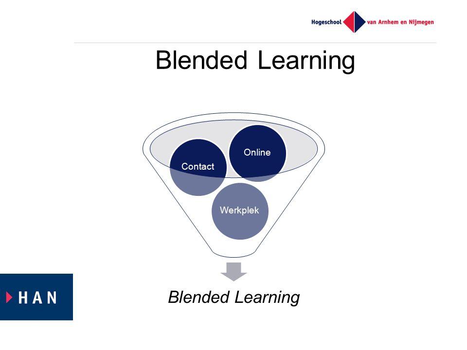 Elearning Blended Learning Flipped Classroom Mate van ICT gebruik