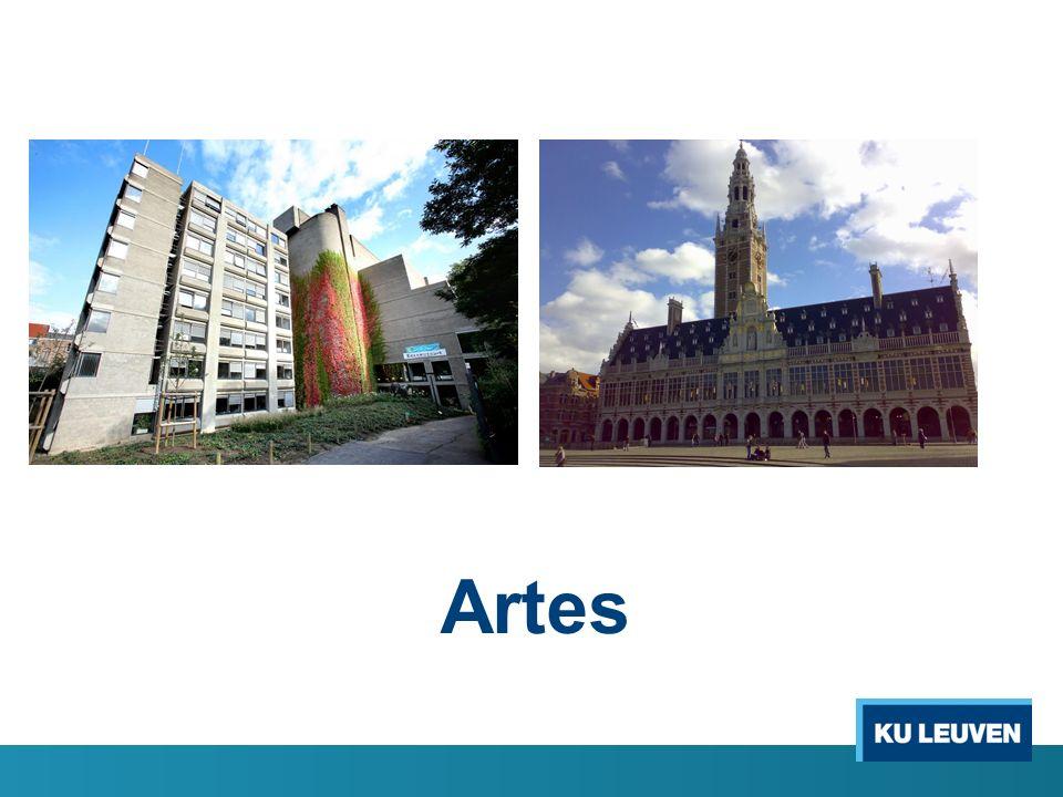 Missie van Artes Artes is de bibliotheekorganisatie die de gebruikscollecties van de vroegere faculteitsbibliotheek Letteren en de vroegere Centrale Bibliotheek samenbrengt, uitbouwt en beheert.