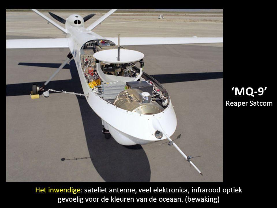 'Boeing Scan Eagle' van de marine op zijn lanceerplatform. Militaire toepassingen