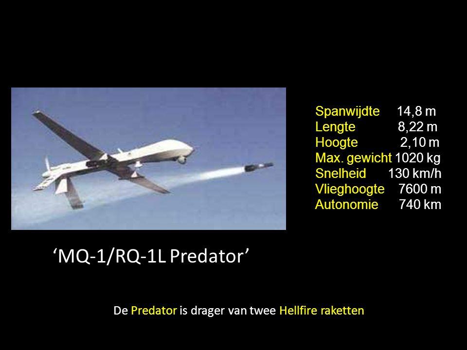 « R » is de aanduiding gegeven door ministerie van defentie van de US voor « verkenning » en de « Q » betekent drone.