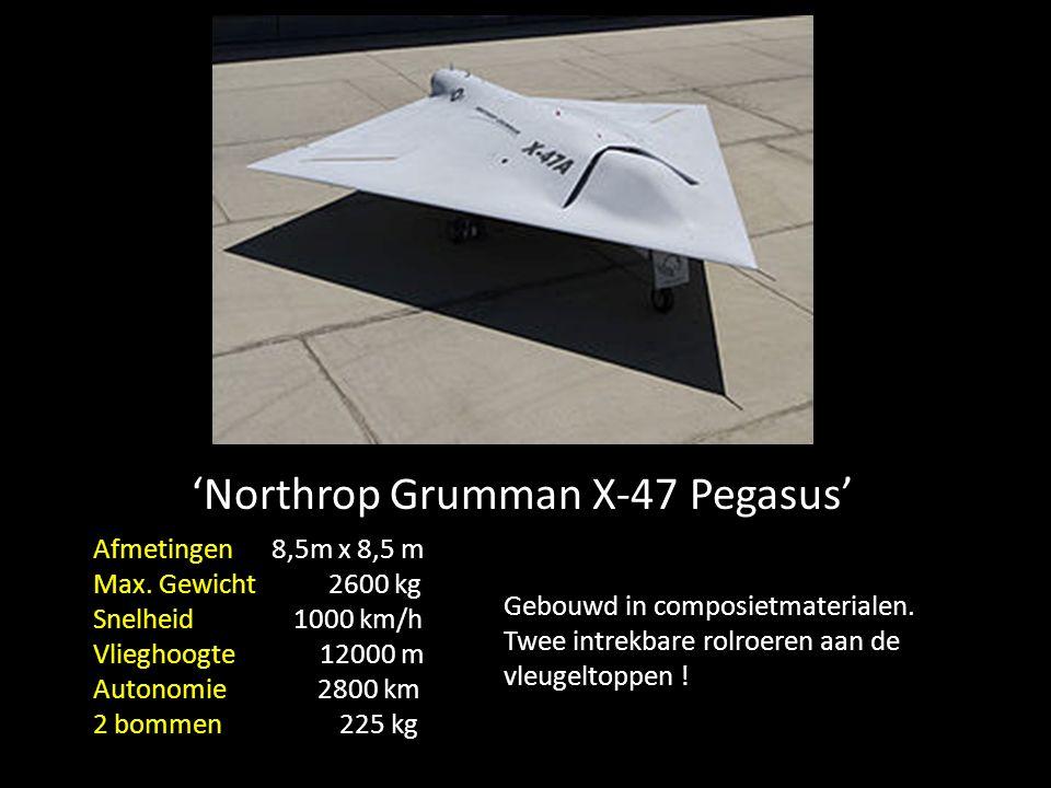 'X45C' geschaalde kopie, van 'B-2 Spirit'
