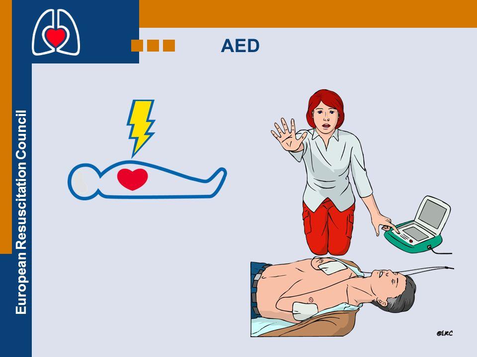 European Resuscitation Council AED