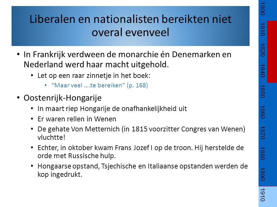 Duitsland Revolutionairen wilden democratische en liberale hervormingen en een Duitse eenheidsstaat.