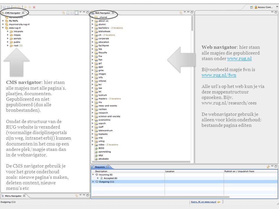 Automatische overzichten - maken ›Zorg ervoor dat de bestanden die je in het overzicht wilt hebben in dezelfde map staan.