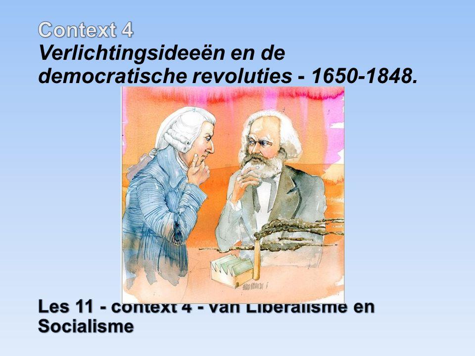 30De democratische revoluties in westerse landen met als gevolg discussies over grondwetten, grondrechten en staatsburgerschap 36De opkomst van de politiek-maatschappelijke stromingen: liberalisme, nationalisme, socialisme, confessionalisme en feminisme Voorbeelden stofomschrijving geen