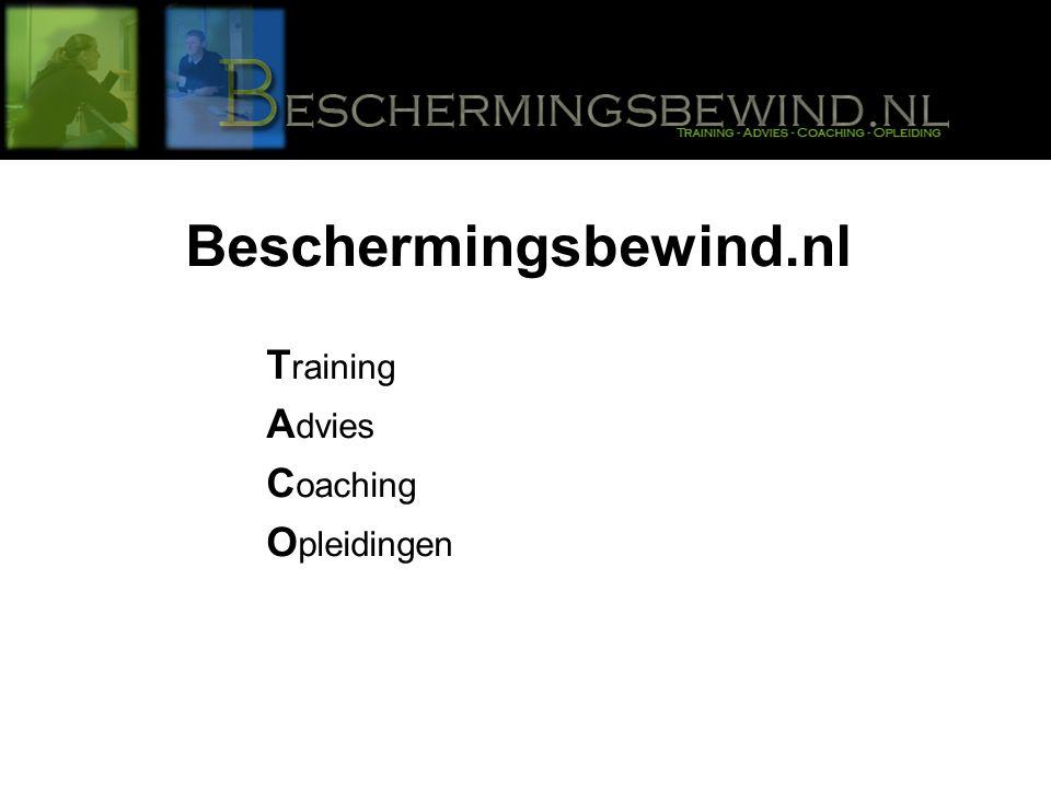 Beschermingsbewind.nl T raining A dvies C oaching O pleidingen