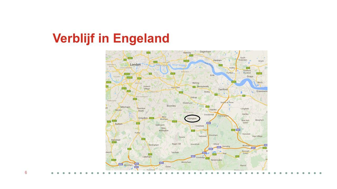 Verblijf in Engeland 6