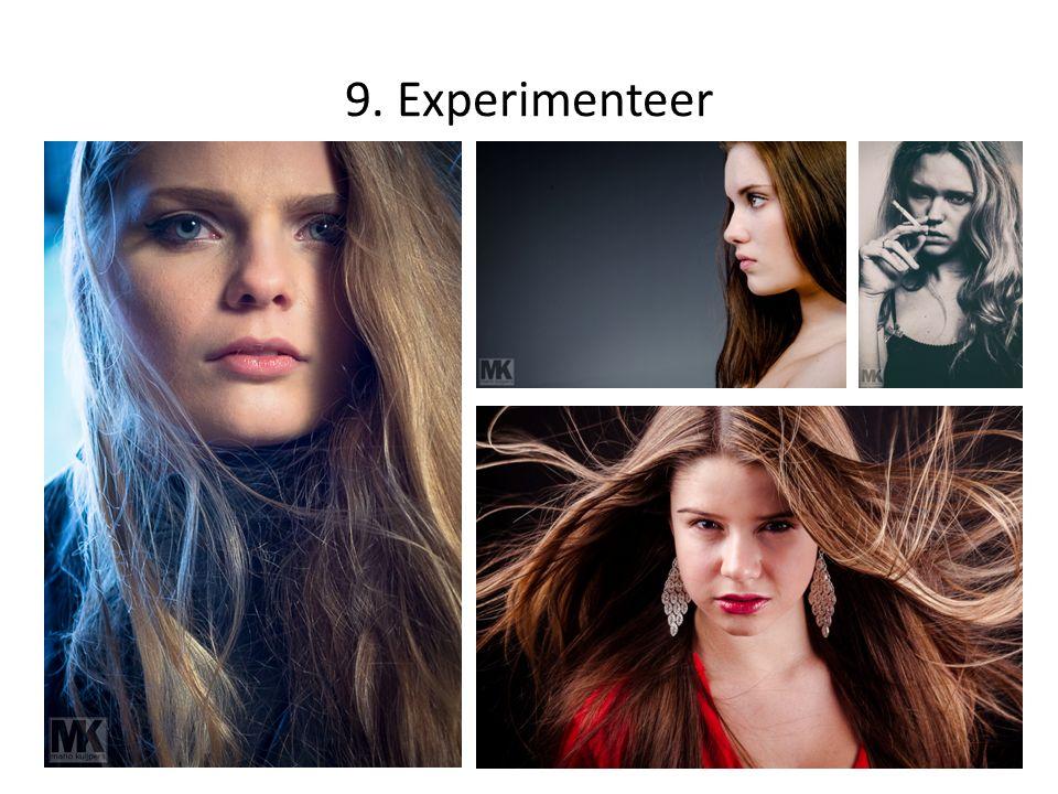 9. Experimenteer