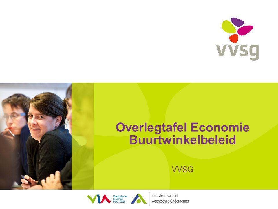 VVSG - Situering: project OVG Ondersteuning en begeleiding van lokale besturen bij het uitwerken van een buurtwinkelbeleid Project ikv oproep 'Ondernemingsvriendelijke Gemeente' Doelstellingen Acties 2 -
